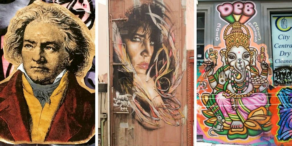 Street art - Melbourne highlights for visitors