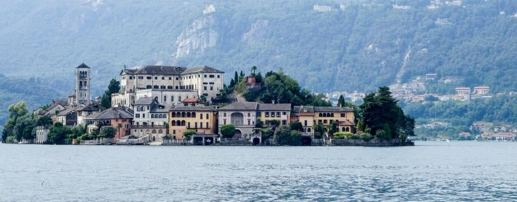 Untold Morsels - travel with culture, food and family in mind. Blog hero image - Lake Orta