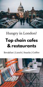Best cafes and restaurants in London