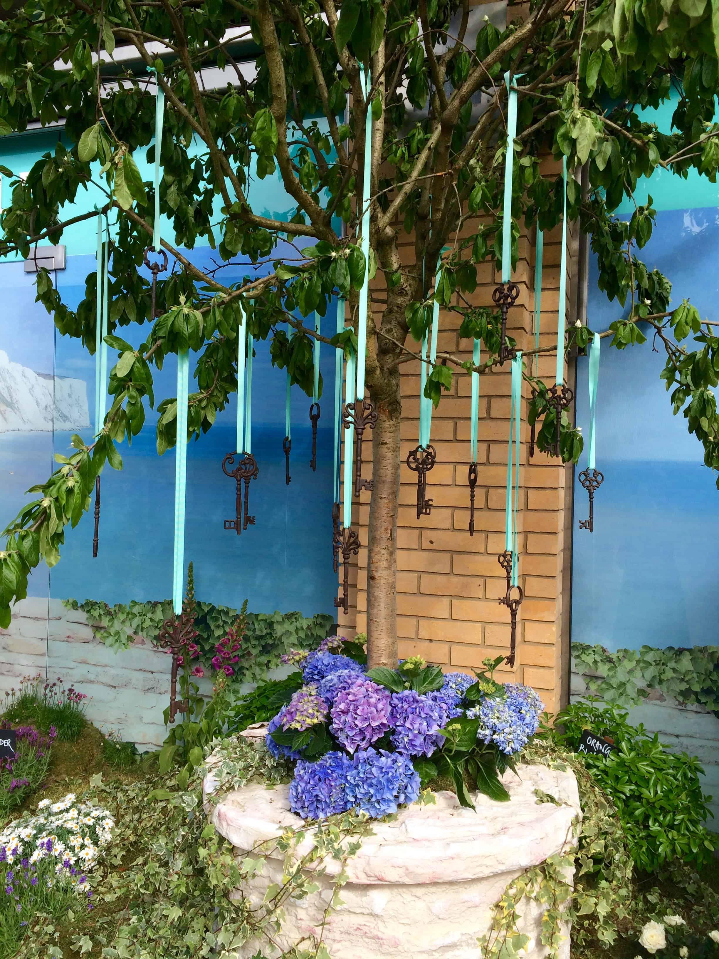 FloraldisplaysatMaryQuantforChelseainBloom