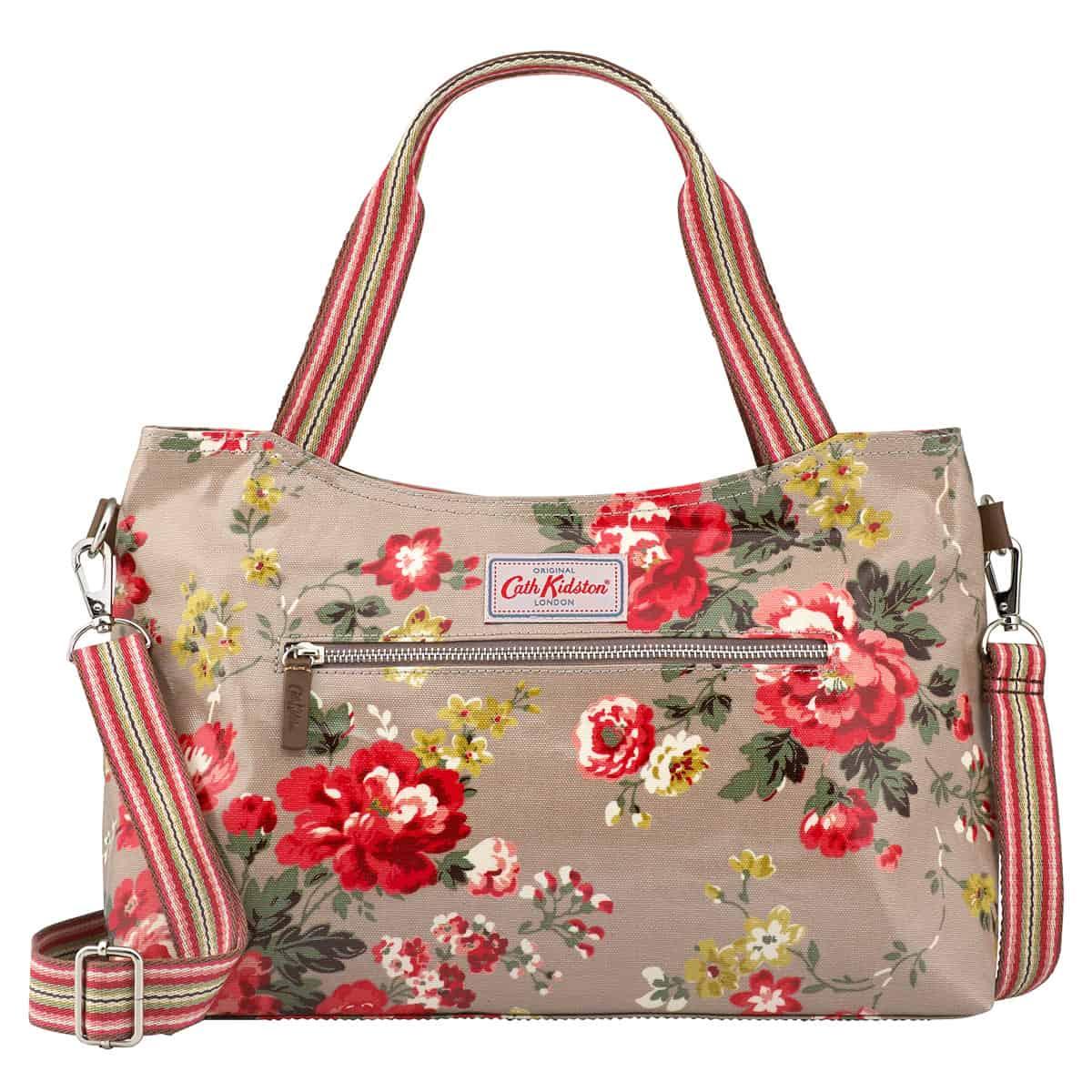 Cath Kidston winter rose handbag