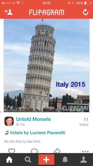 Italy flipagram
