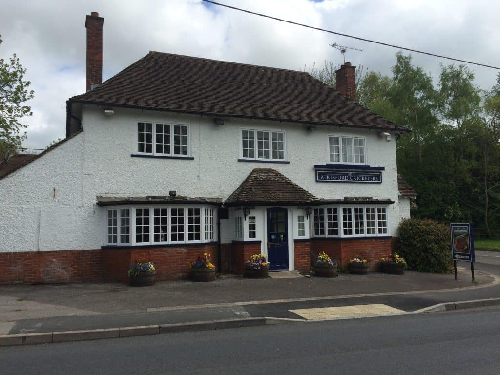 The Cricketers Arms - Alresford