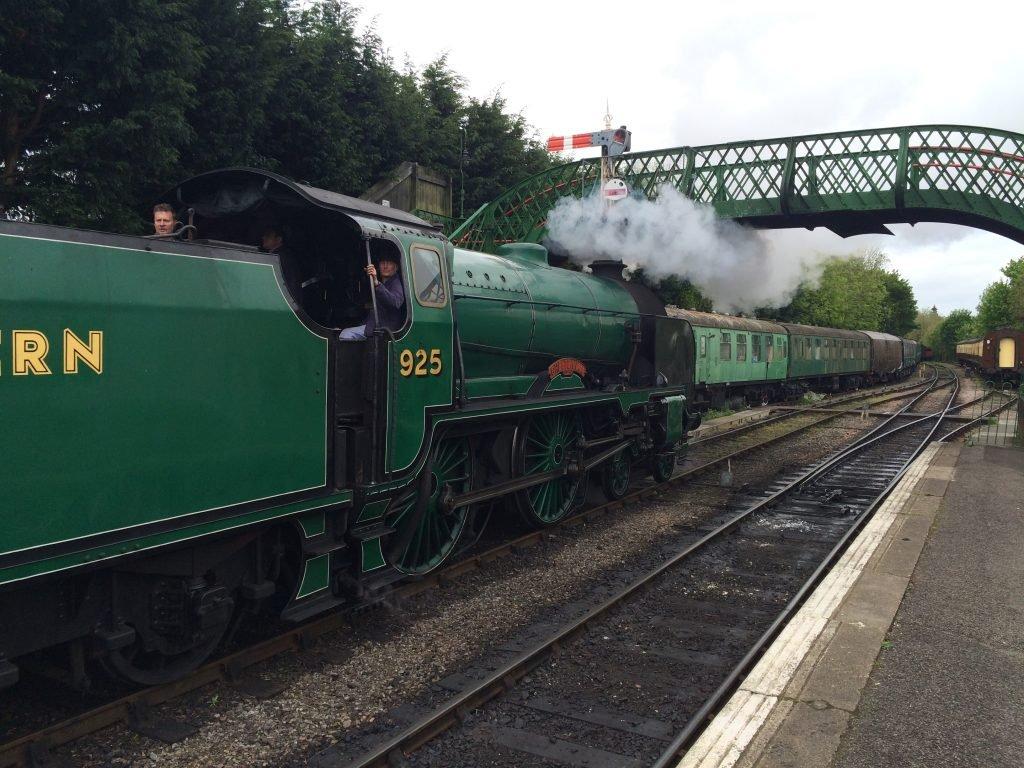 Watercress Line steam train