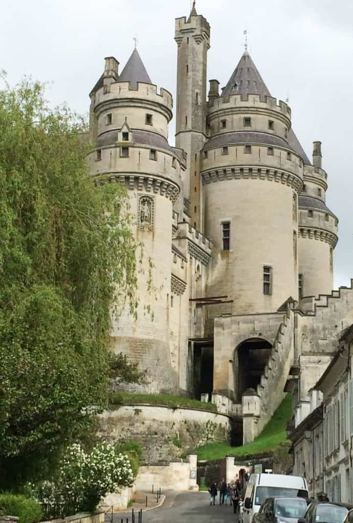 Approach to Chateau Pierrefonds