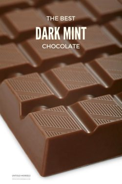 The best dark mint chocolate