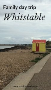 Family day trip to Whitstable