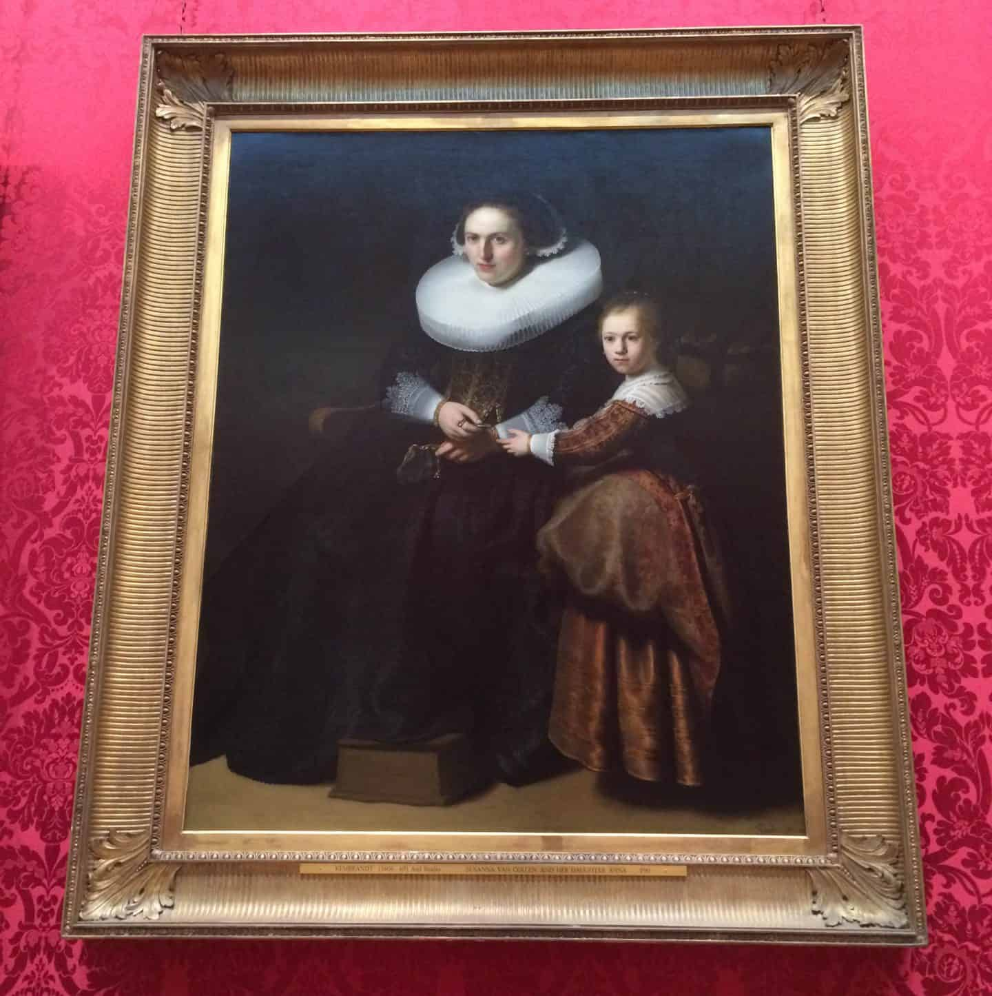 WallaceCollectionRembrandt SusannavanCollenandherdaughterAnna