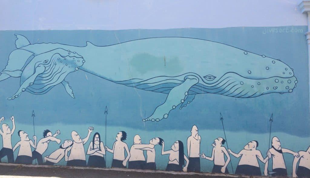 Whale Street Art Brighton