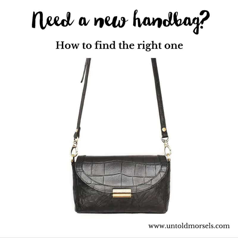 How to find the right handbag