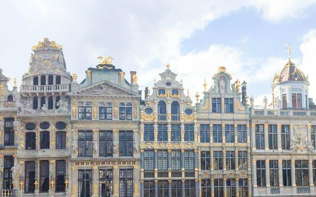 things to see in Brussels, Belgium - ornate buildings line the Grand Place
