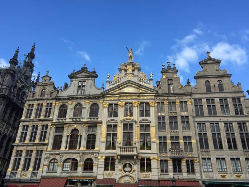 brussels grand place - things to see in Brussels