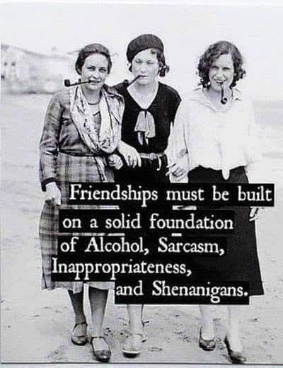 Foundations of friendship