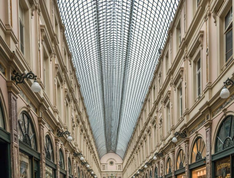 brussels galeries - best place for chocolate in brussels