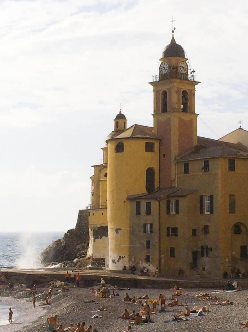 Italian Riviera | Camogli | Italy - a favourite spot on the Ligurian coast
