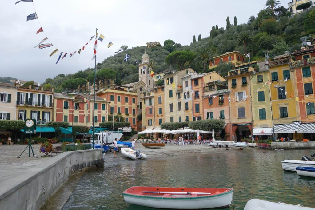 Portofino | Italy enjoying a quiet moment by the harbour