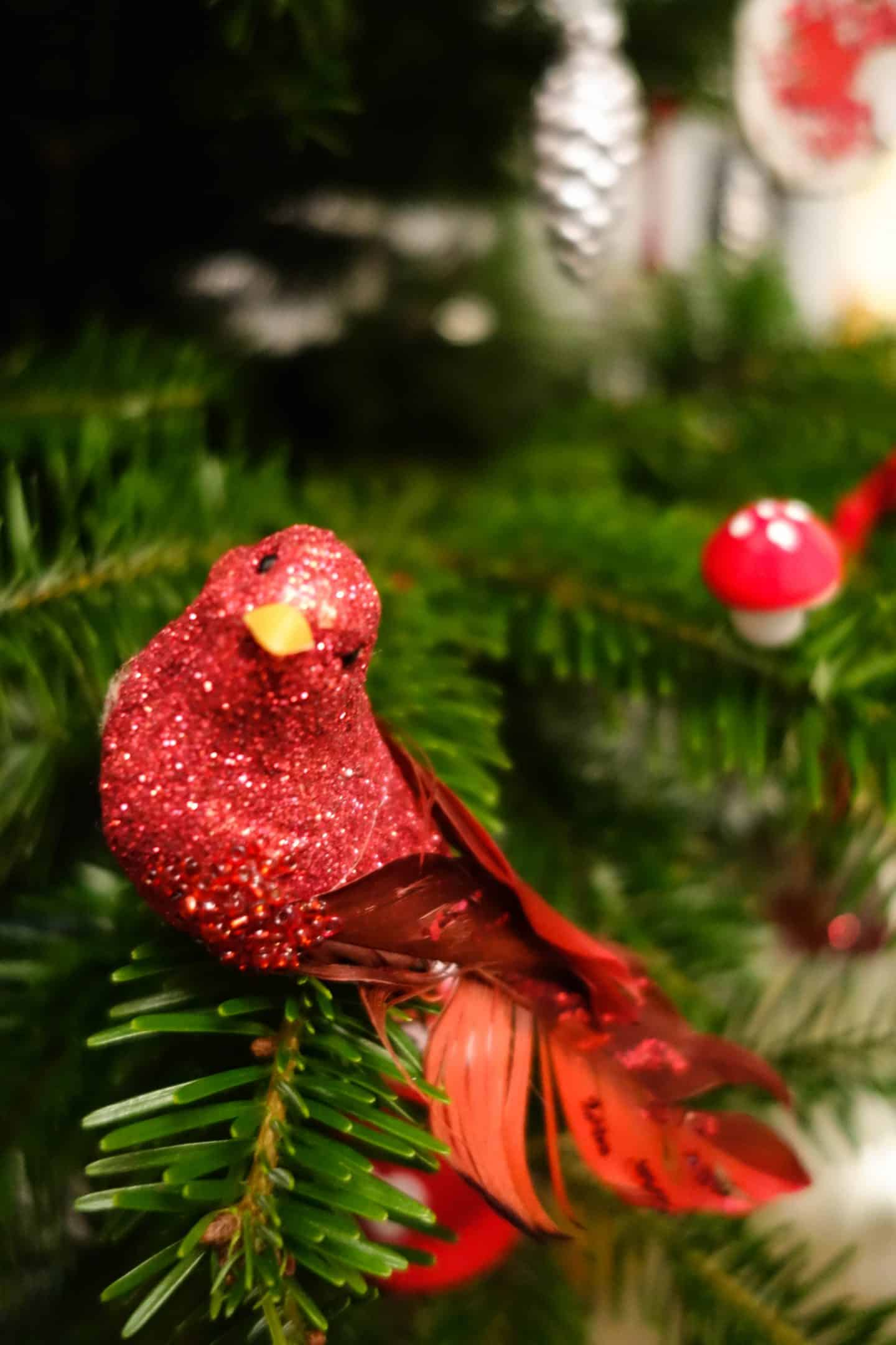 Christmas tree decorations - bird