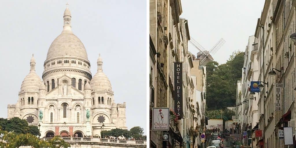 Sacre Coeur & Montmartre