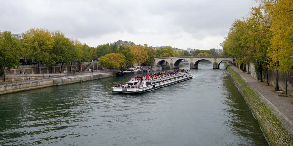 Bateau Mouches on the Seine