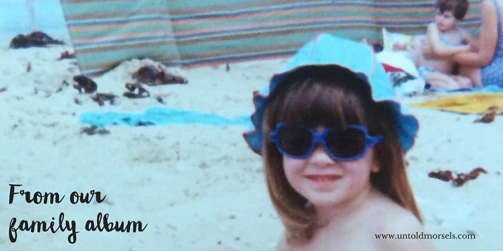 Me aged around 4 - nice shades and hat combo