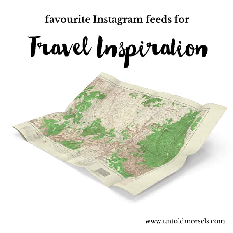 Favourite Instagrams for travel inspiration