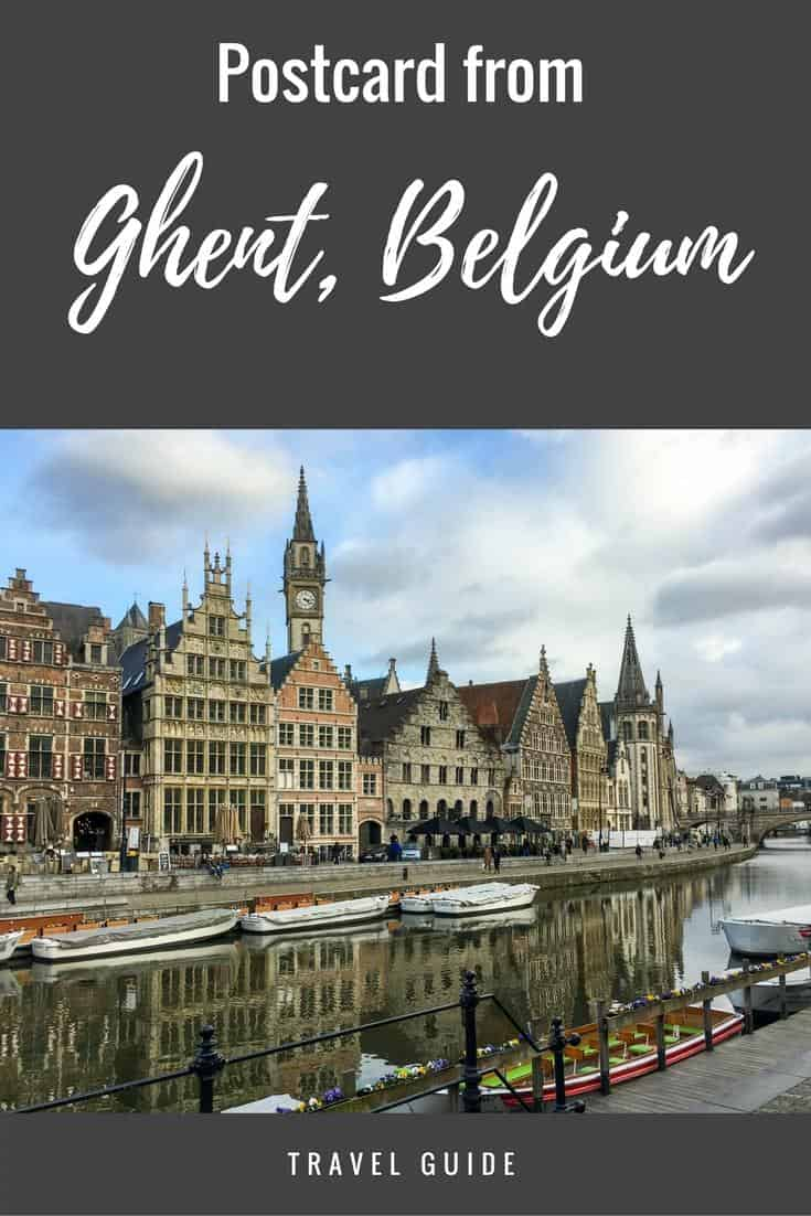 Ghent, Belgium - things to do in the pretty medieval city