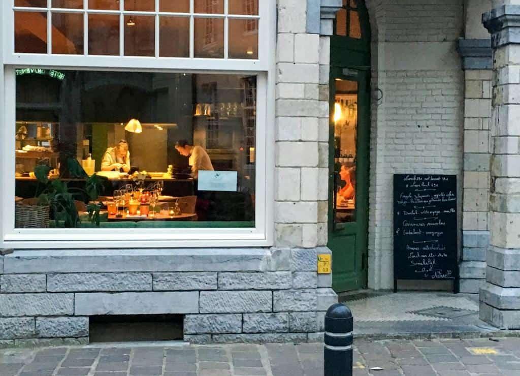 restaurant ghent belgium