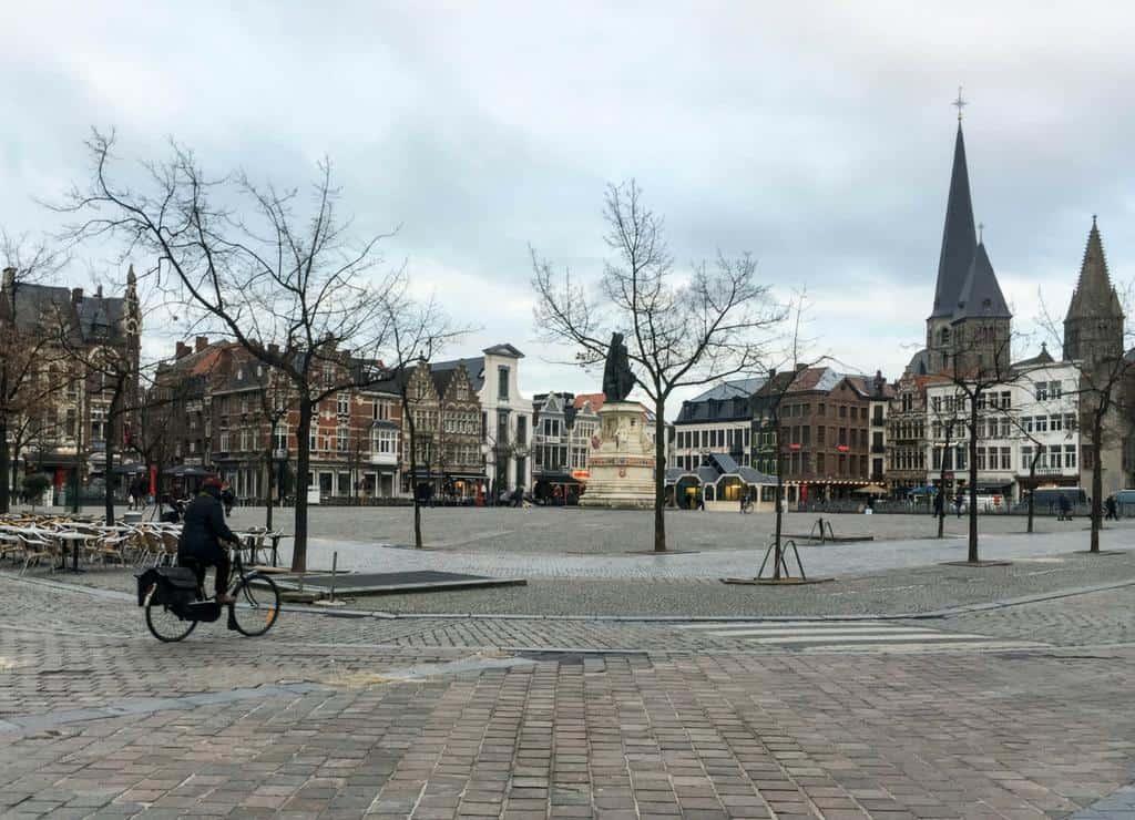 vrijdagmarkt ghent belgium
