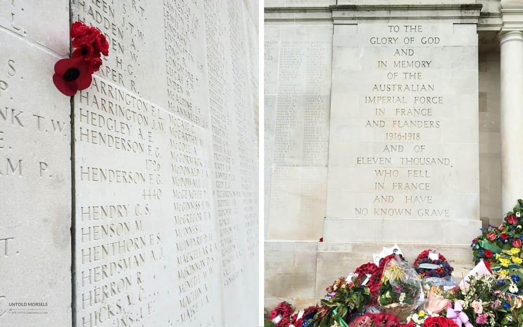 ANZAC memorial Villers Brettoneux France