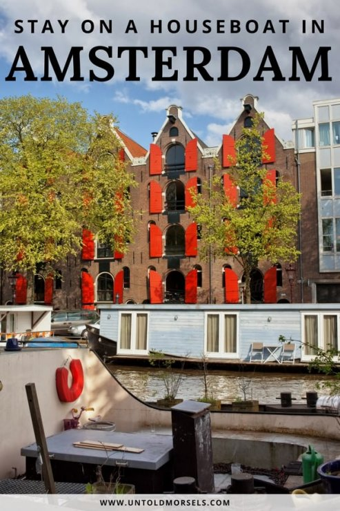 Amsterdam houseboat - the perfect place to stay in Amsterdam