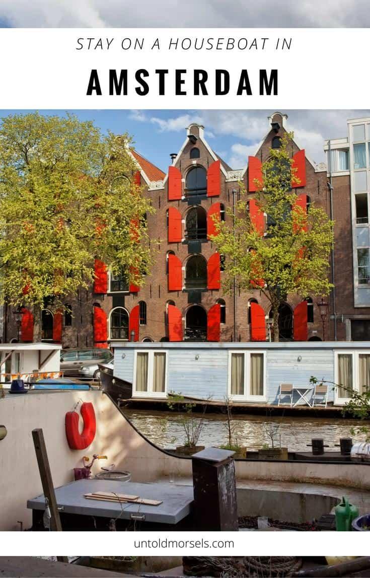 Amsterdam houseboat rental - citybreak in Amsterdam