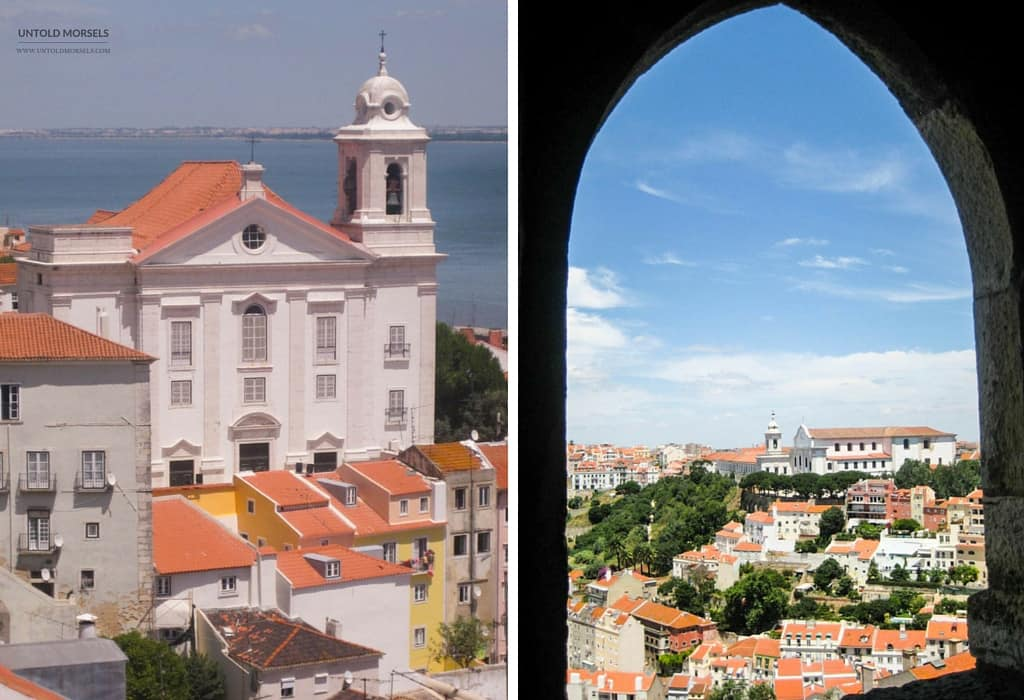 Things to do in Lisbon - Views of Lisbon from the Castelo de São Jorge