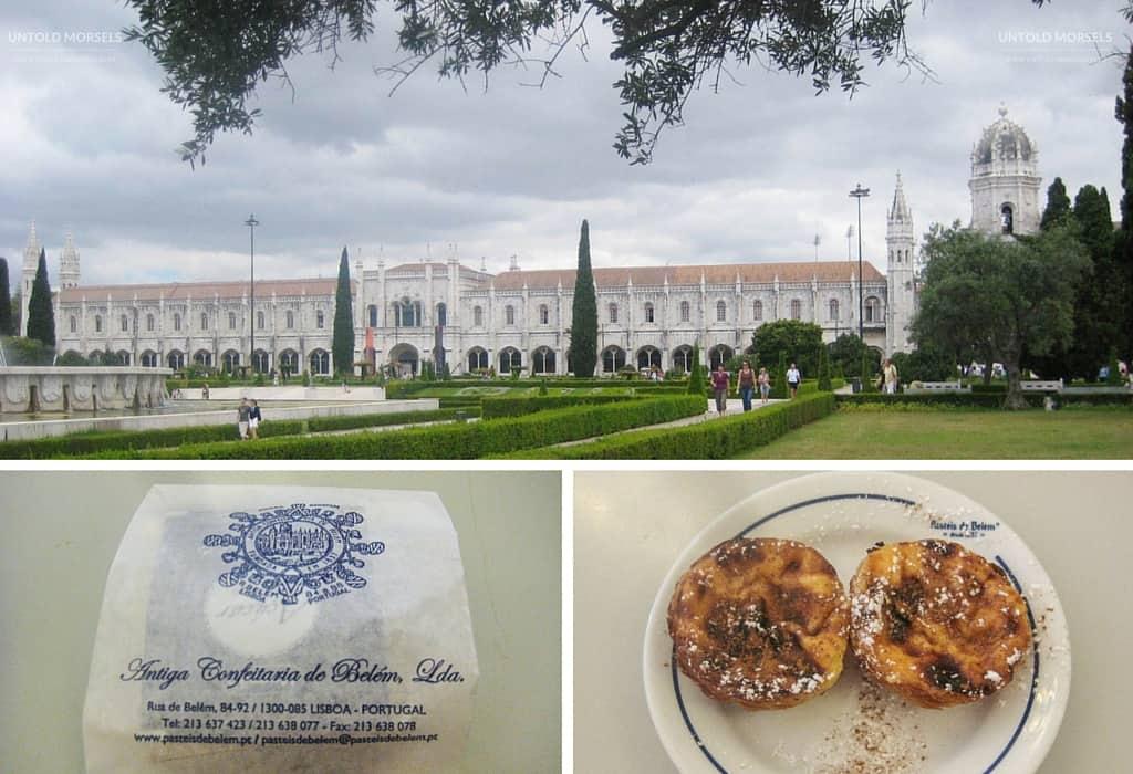 Exploring Lisbon, Portugal - Mosteiro dos Jerónimos and pastéis de nata