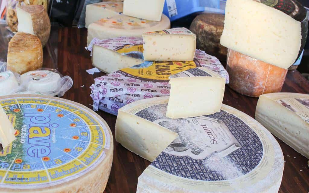 Favourite food markets - Vevey Switzerland - cheese