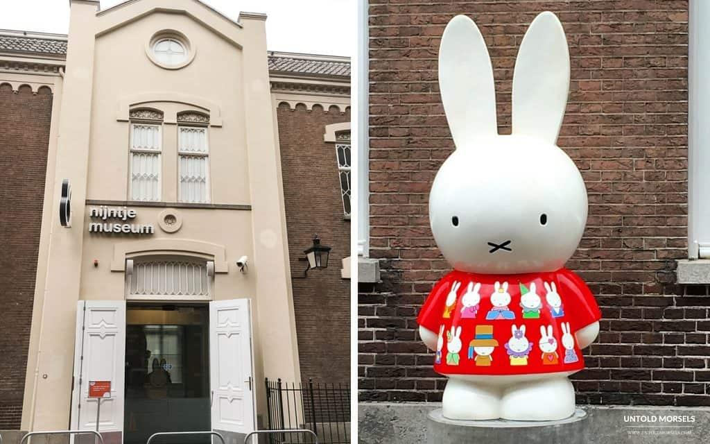 Family travel ideas near Amsterdam- visit the Miffy museum in Utrecht