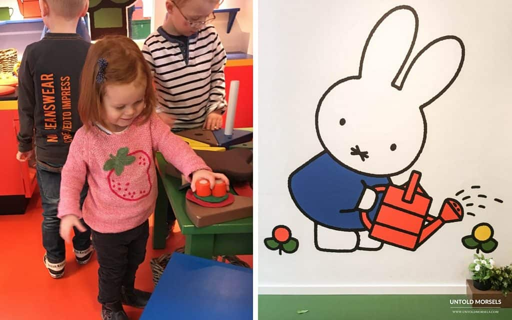 Lots of fun and playtime at Miffy's museum and playhouse