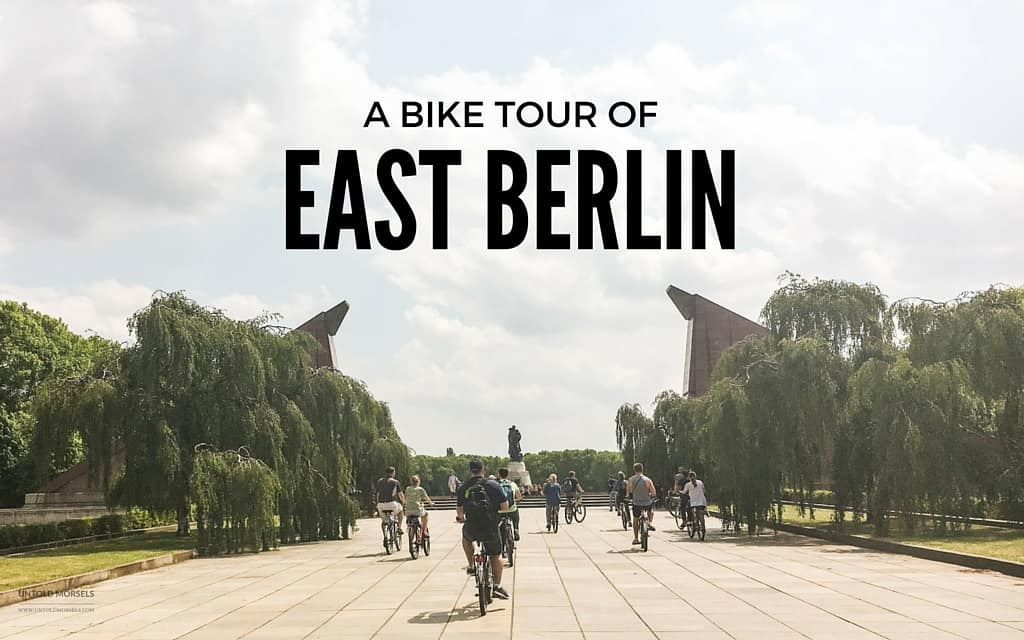 A bike tour of East Berlin