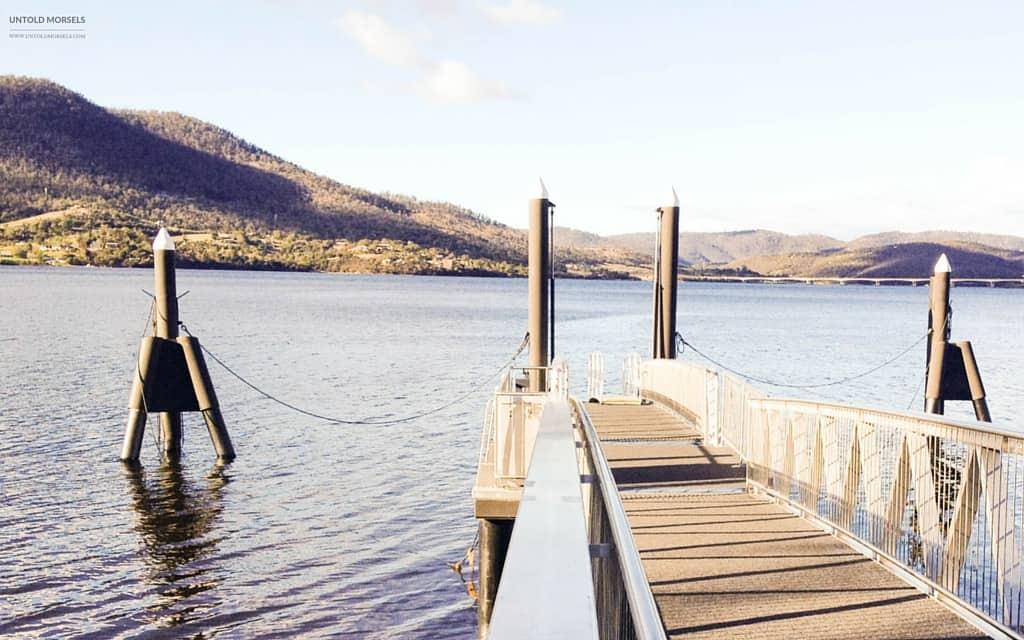 trip to Hobart - MONA jetty
