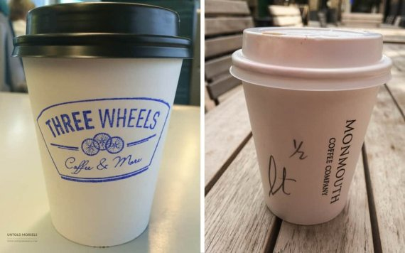 best takeaway coffee london