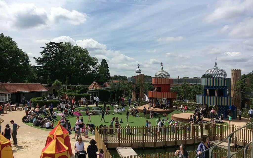 magic garden Hampton Court Palace