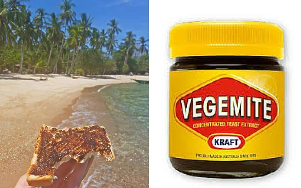 Tastes like home - Vegemite - ShaTara Travels