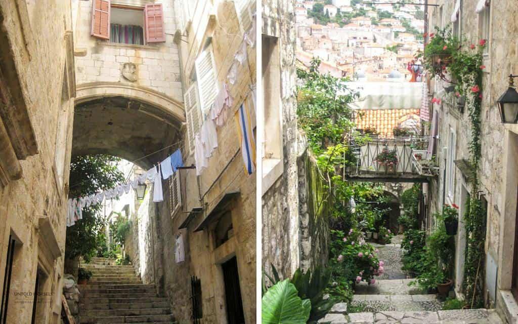 behind the scenes in Dubrovnik