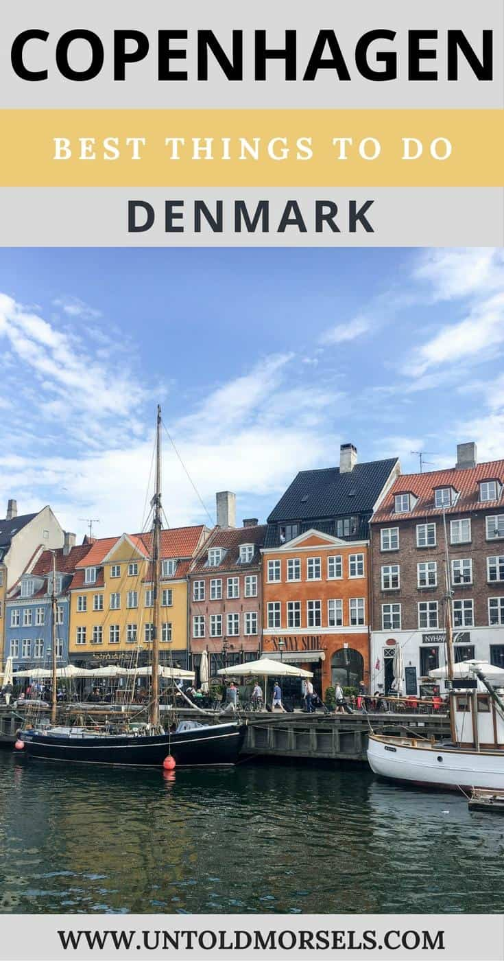 Copenhagen, Denmark. Best things to do in Copenhagen. Little Mermaid. Nyhavn. Rosenborg castle