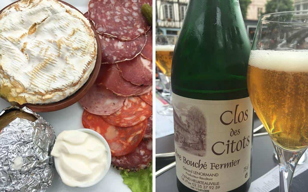 cheese and cider rouen normandy gastronomy