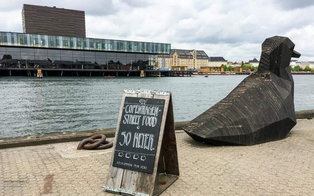 Copenhagen street food market - paper island