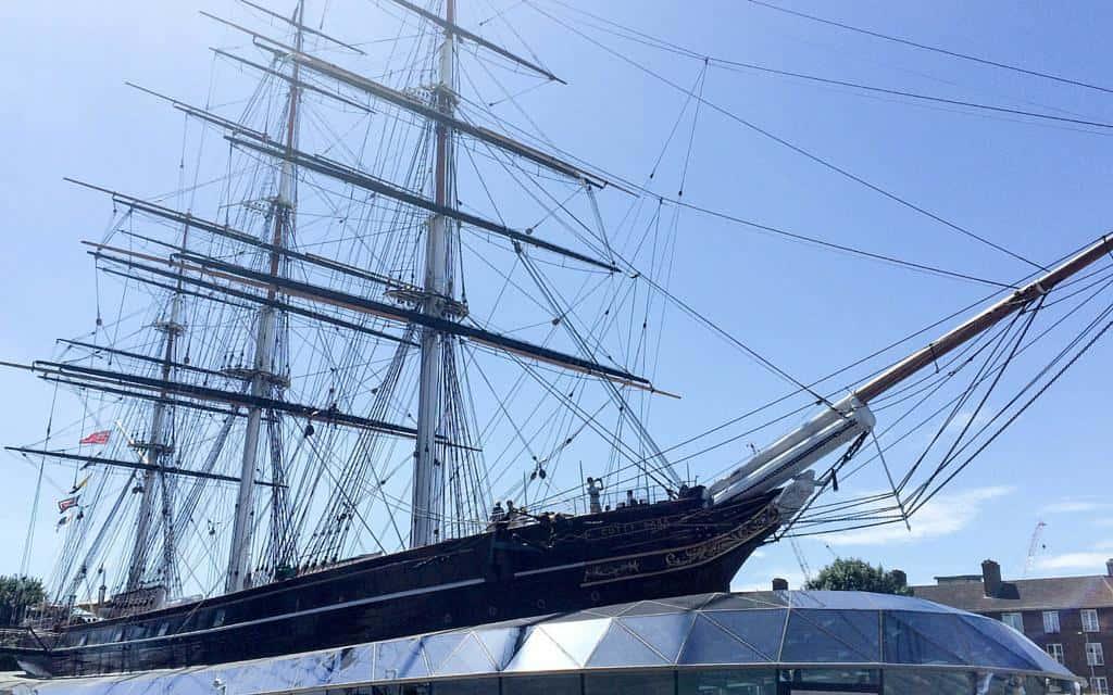 Cutty Sark clipper Greenwich