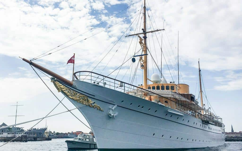 Danish Royal Yacht Dannebrog