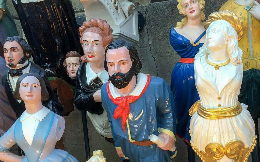 Figureheads at Cutty Sark