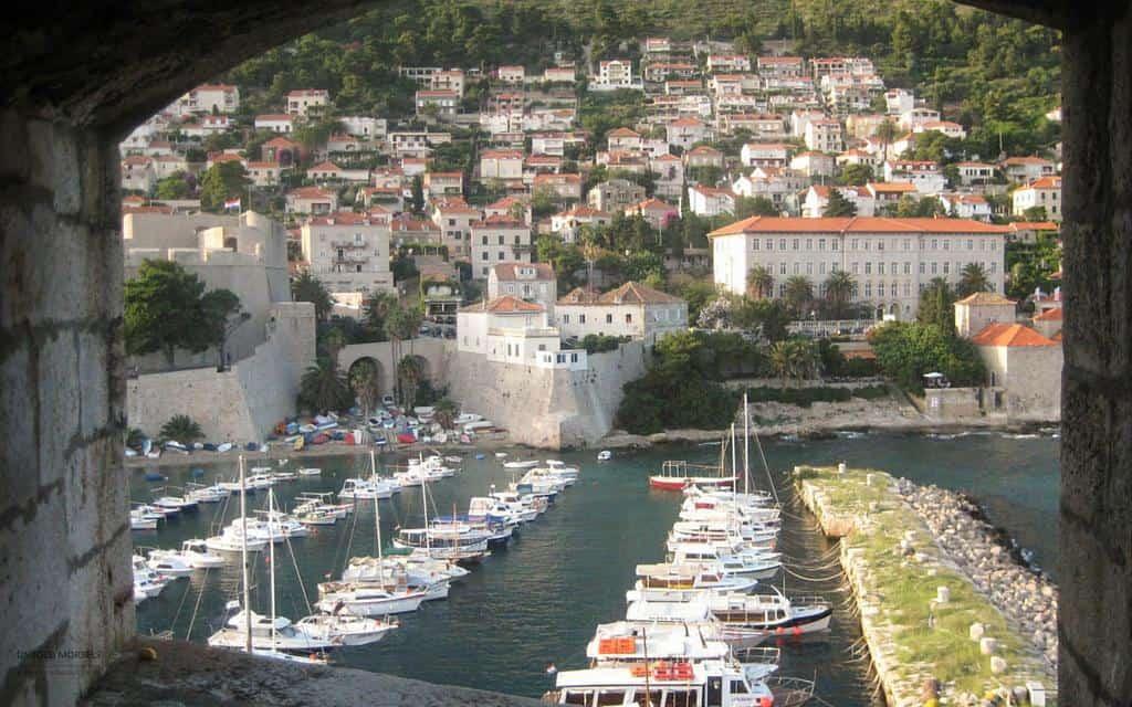 harbour views Dubrovnik