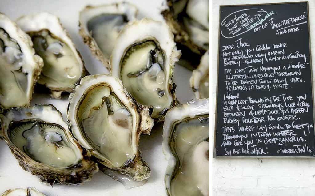 Lorne seafood and poetry great ocean road